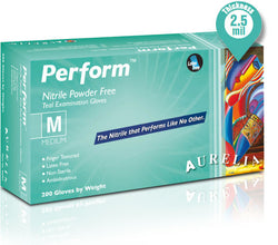Supermax Canada Aurelia Perform Powder Free Nitrile Gloves - Avida Healthwear Inc.