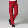 Red - Maevn Red Panda Half Elastic Pant