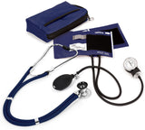 Navy - Prestige Medical Aneroid Sphygmomanometer/Sprague-Rappaport Kit