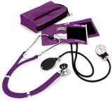 Purple - Prestige Medical Aneroid Sphygmomanometer/Sprague-Rappaport Kit