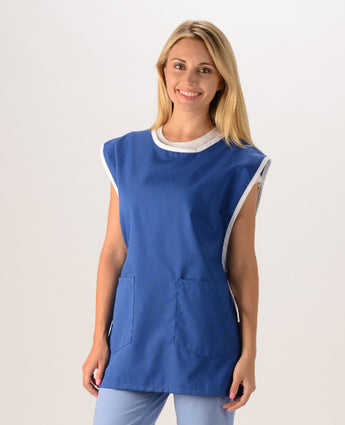 Royal Blue/White Trim - Avida Cobbler Apron