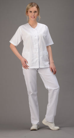 Avida Button Front Top - Avida Healthwear Inc.