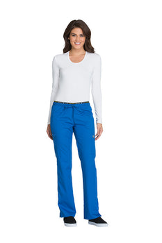 Royal - Cherokee Luxe Sport Mid Rise Drawstring Pant