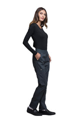 Pewter - Cherokee Luxe Natural Rise Pull On Pant