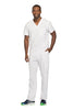 White - Cherokee Infinity Men's V-Neck Top