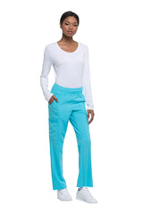 Turquoise - Dickies EDS Essentials Natural Rise Tapered Leg Pull On Cargo Pant