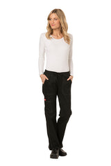 Black - Dickies Gen Flex Low Rise Straight Leg Drawstring Pant