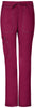 Wine - Dickies Gen Flex Low Rise Straight Leg Drawstring Pant