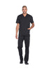 Black - Dickies Dynamix Men's V-Neck Top