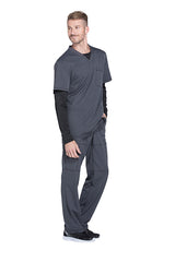 Pewter - Dickies Dynamix Men's V-Neck Top