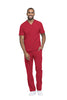 Red - Dickies Dynamix Men's V-Neck Top