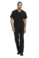 Black - Dickies EDS Essentials Men's V-Neck Top