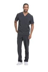 Pewter - Dickies EDS Essentials Men's V-Neck Top