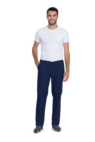 Navy - Genuine Dickies Industrial Strength Unisex Mid Rise Straight Leg Drawstring Pant