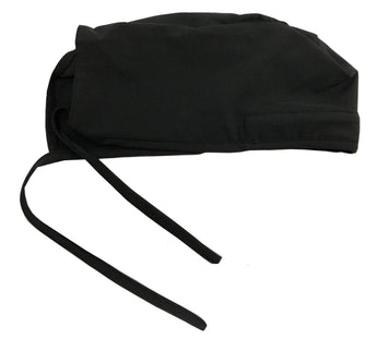 Green Town Zinnia Scrub Hat - Black