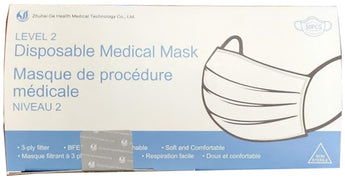 ASTM Level 2 Disposable Medical Mask (Box of 50)