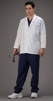 White - Avida Lab Coats Unisex Consultation Coat