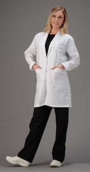 White - Avida Lab Coats 36