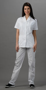 White - Avida Snap Front Top