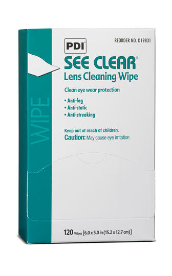See Clear Lens Cleaning Wipes - Avida Healthwear Inc.