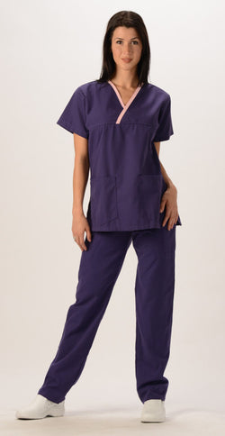 Mock Wrap Top - Avida Healthwear Inc.