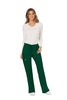 Hunter Green - Cherokee Workwear Revolution Mid Rise Drawstring Cargo Pant