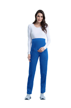 Royal - Cherokee Workwear Revolution Maternity Pull On Pant