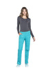 Teal Blue - Cherokee Workwear Professionals Mid Rise Pull On Cargo Pant