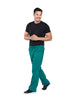 Hunter Green - Cherokee Workwear Professionals Men's Tapered Leg Drawstring Cargo Pant