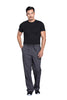 Pewter - Cherokee Workwear Professionals Men's Tapered Leg Drawstring Cargo Pant
