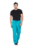 Teal Blue - Cherokee Workwear Professionals Men's Tapered Leg Drawstring Cargo Pant
