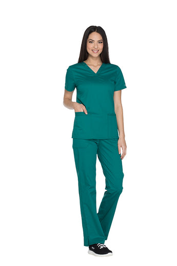 Hunter - Cherokee Workwear Core Stretch V-Neck Top