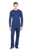 Navy - Cherokee Workwear Professionals Men's Underscrub Knit