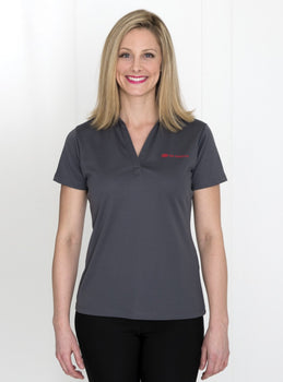 Steel Grey - Everyday Ladies' Sport Shirt