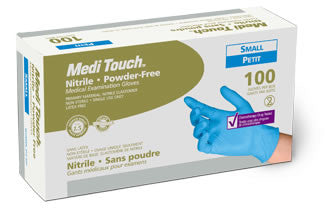 Medi Touch Nitrile Examination Gloves (Powder Free)