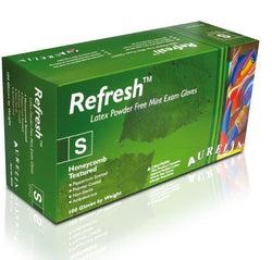 Supermax Canada Aurelia Refresh Powder Free Latex Gloves - Avida Healthwear Inc.