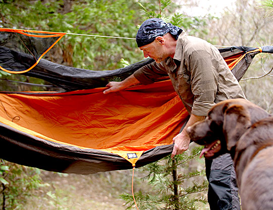 survivorman hammock