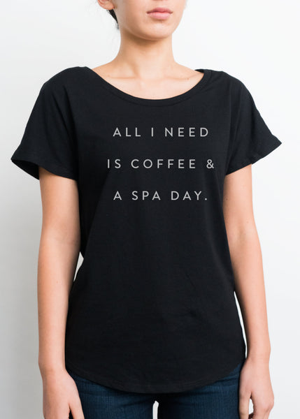 NEW! Coffee & Spa Day Women's T-Shirt