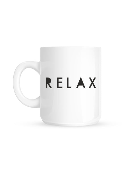 New! Relax Coffee Mug