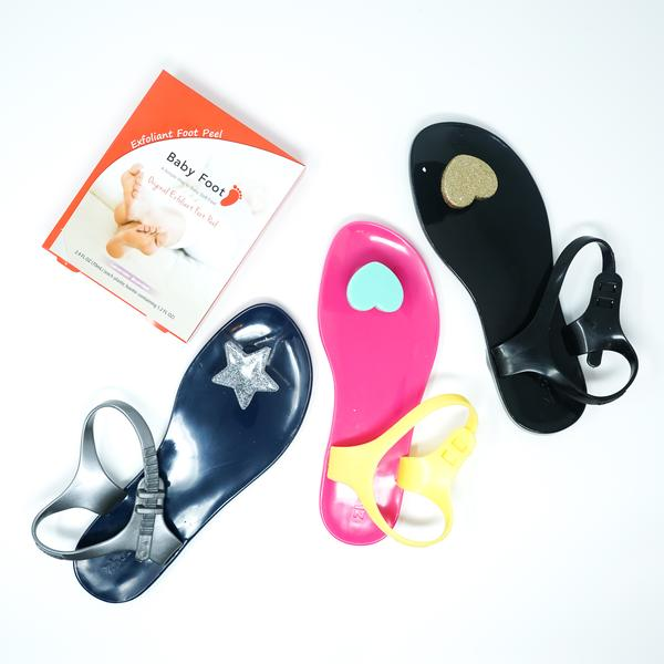 Flawless Feet Kit - Zhoelala Milano + Baby Foot - Pink/Yellow