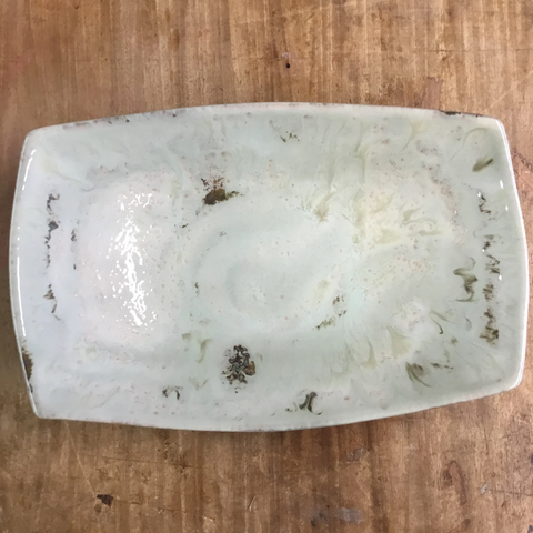 Celery Rectangle Serving Bowl - TheMississippiGiftCompany.com