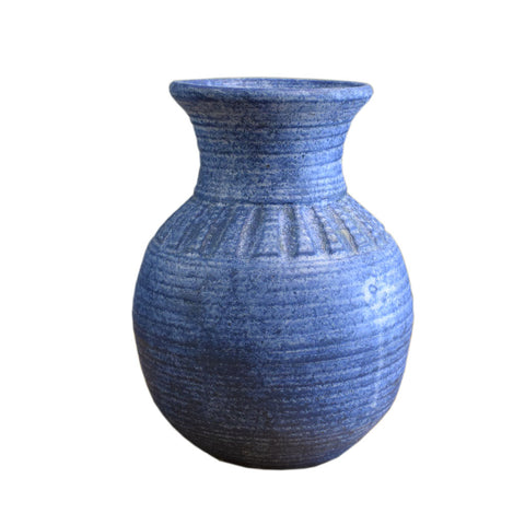 "10"" Vase Blue - TheMississippiGiftCompany.com"