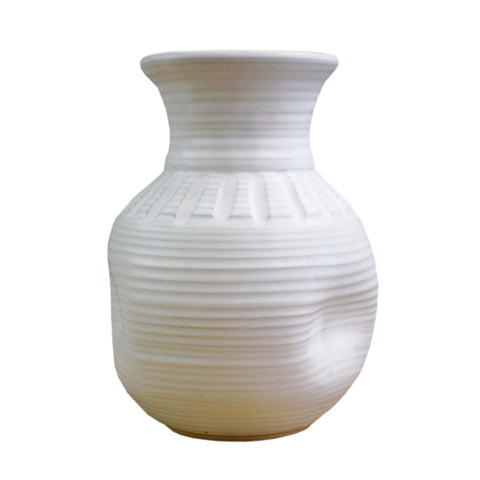 "10"" Vase White - TheMississippiGiftCompany.com"