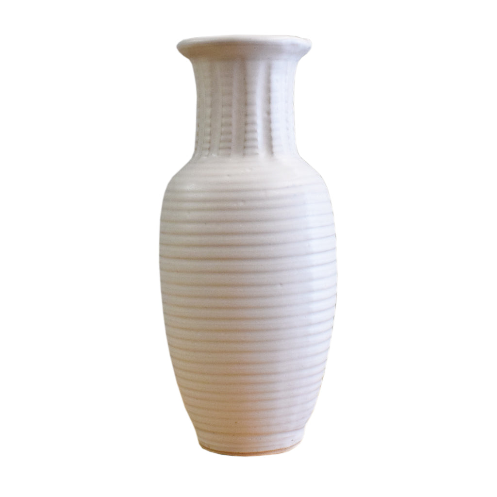 "12"" Vase White - TheMississippiGiftCompany.com"