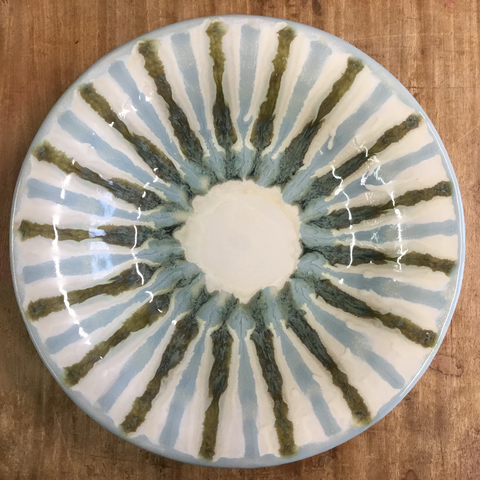 Teal Pasta Bowl - TheMississippiGiftCompany.com