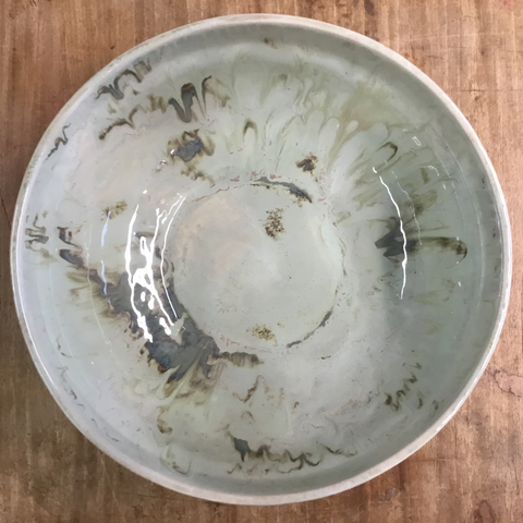 Celery Large Round Serving Bowl - TheMississippiGiftCompany.com