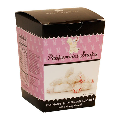 Peppermint Snaps Cookies- 4oz- - TheMississippiGiftCompany.com