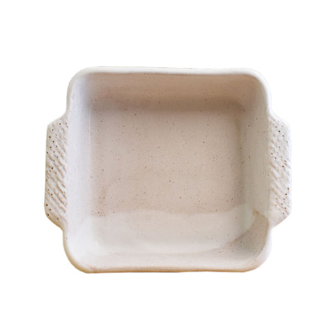 Casserole Dish 7x7 White - TheMississippiGiftCompany.com