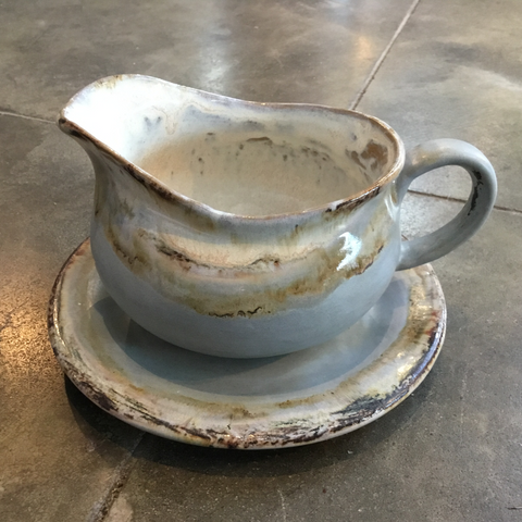 Peaceful Gravy Boat/Saucer - TheMississippiGiftCompany.com