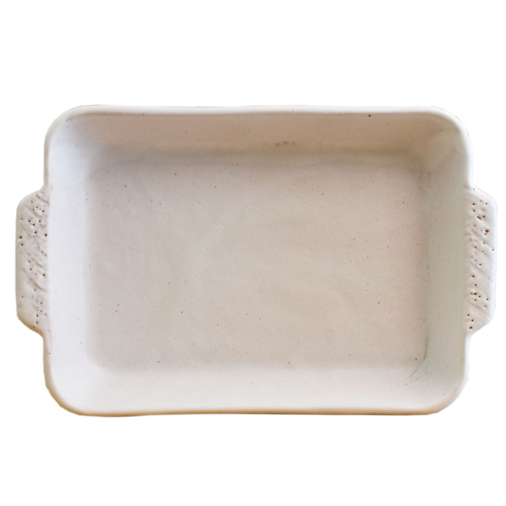 Rectangle 8.5x12 Casserole White - TheMississippiGiftCompany.com